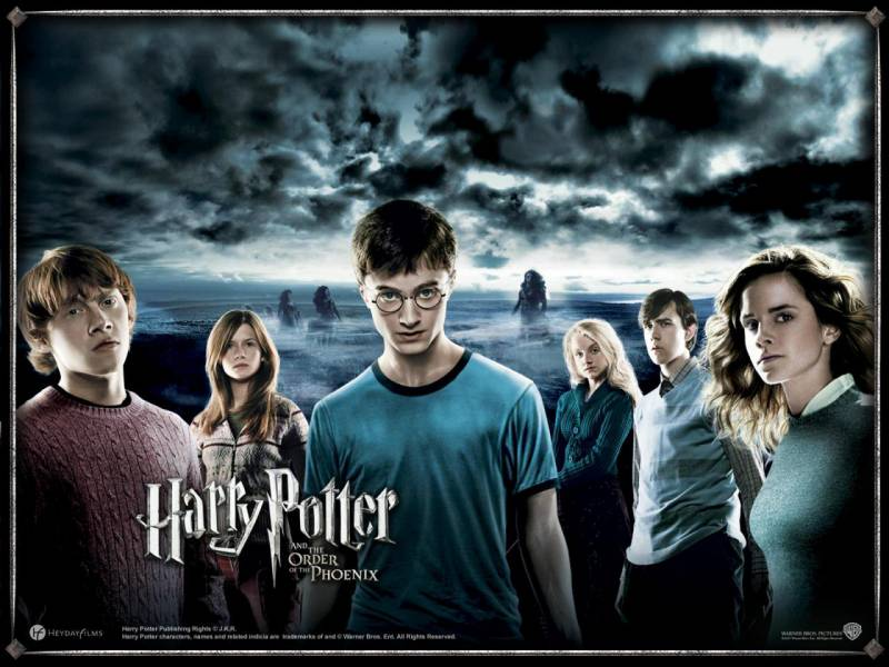 Гарри Поттер и орден Феникса / Harry Potter and the Order of the Phoenix